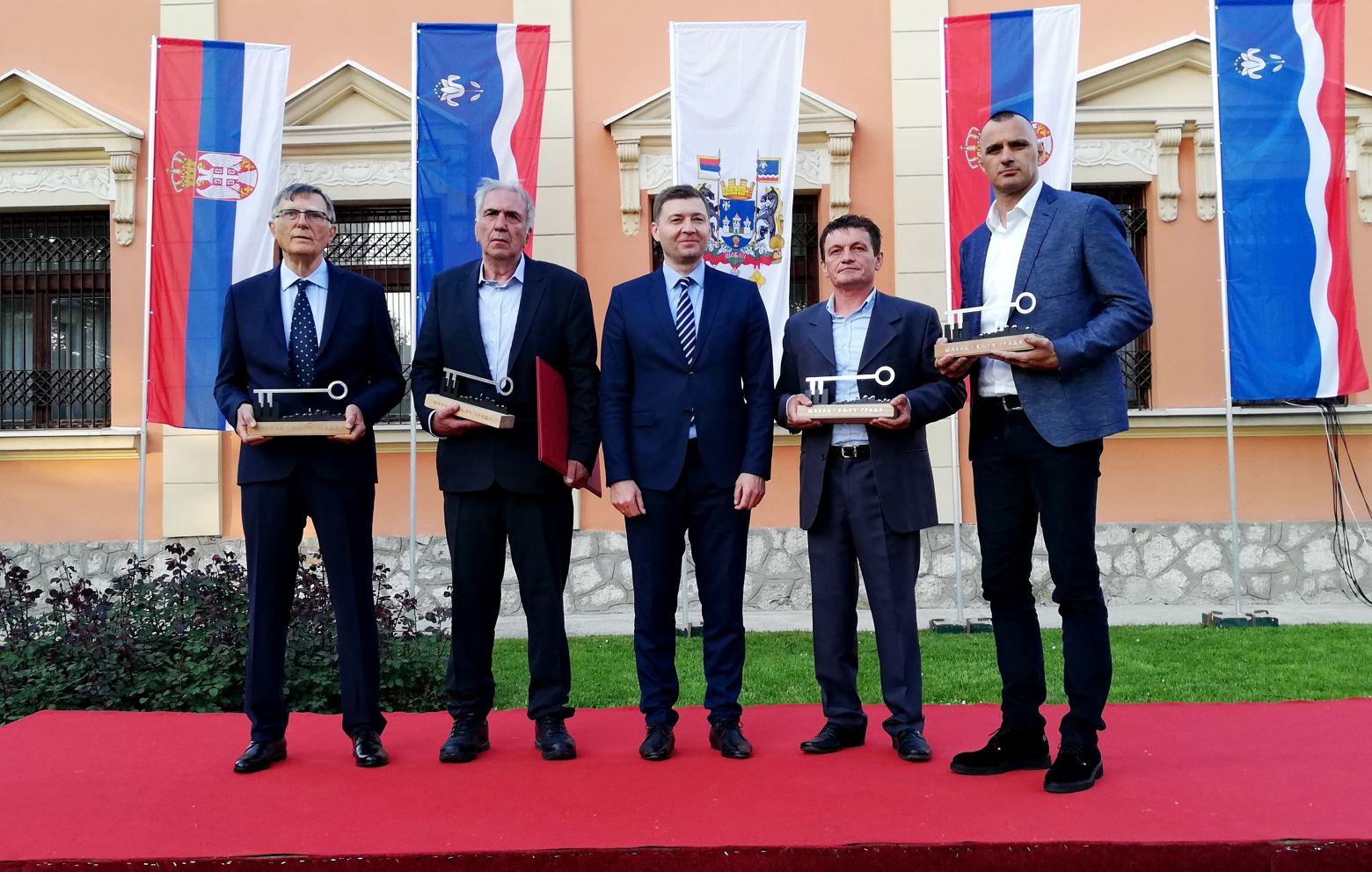 Ključ Grada Šapca u rukama FK Mačva