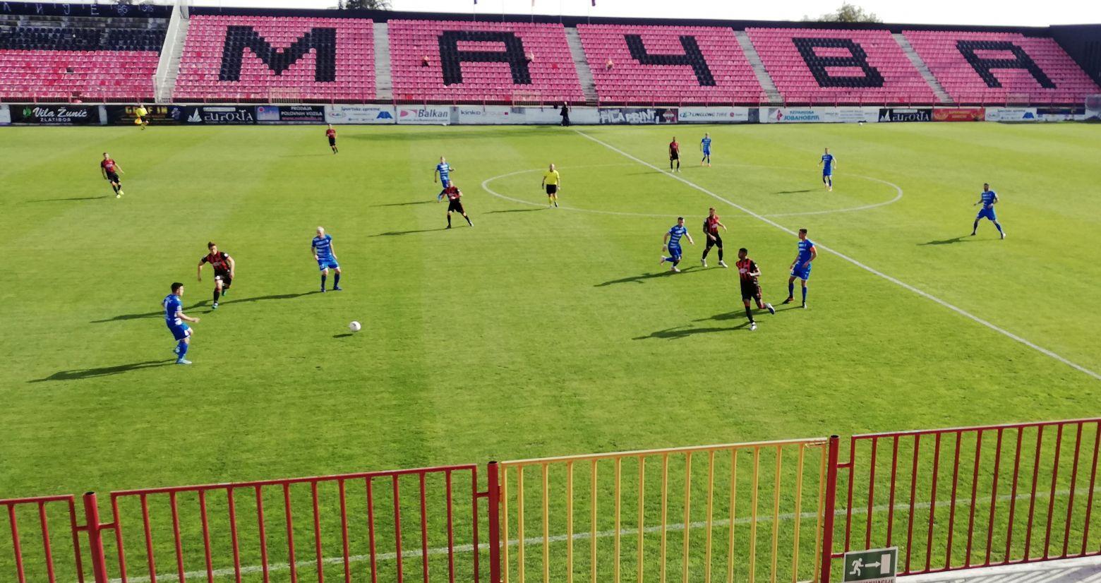 Mačva zaustavljena, Metalac u osmini finala Kupa
