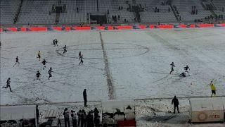 Partizan i Mačva podelili bodove u snežnoj Humskoj