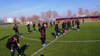 Prvi trening na Ohridu